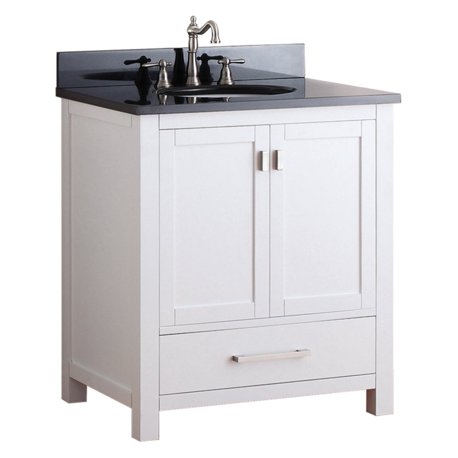 Avanity Modero Vs30 Wt Modero 30 In Single Bathroom Vanity Without Top Bathroom Vanities Without Tops Single Bathroom Vanity Bathroom Vanity Combo