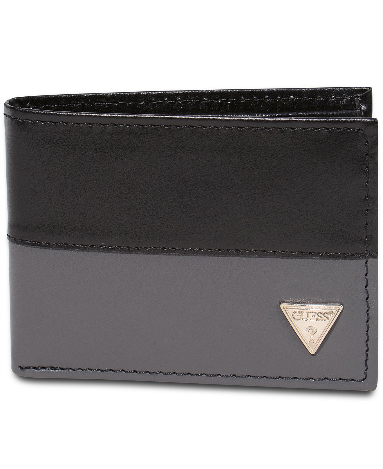GUESS Semi Glazed Slim Bifold Wallet - Accessories   Wallets - Men - Macy s c39713ccbf7ae