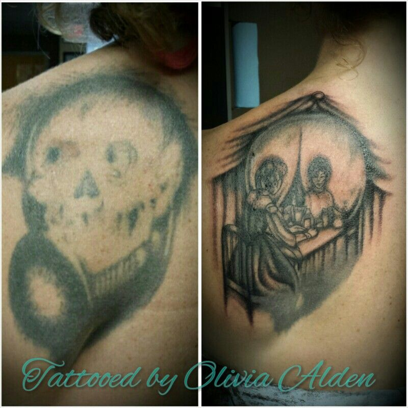 Vanity rework tattoo