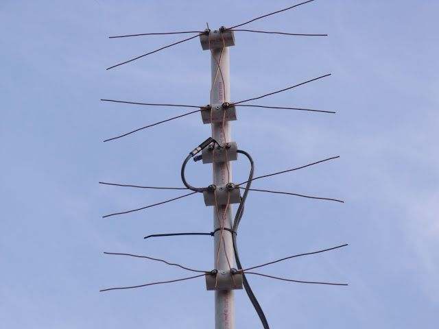 Home Made Tv Antenna Long Range Tv Antenna Utility Pole