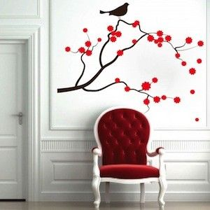 Japan Blossom wall decal
