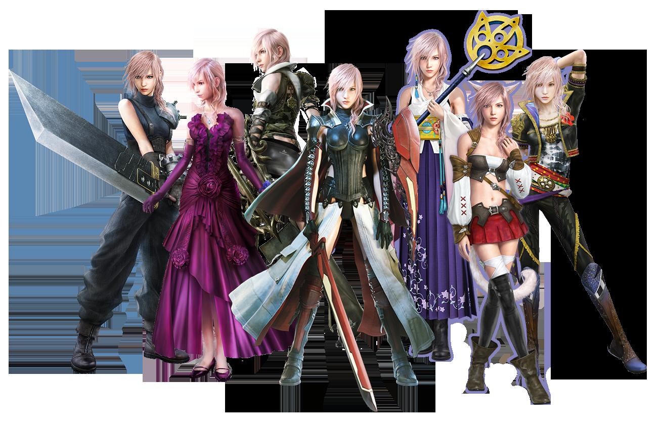 Lr Garbs Png 1305 834 Final Fantasy Cosplay Stock Character Final Fantasy