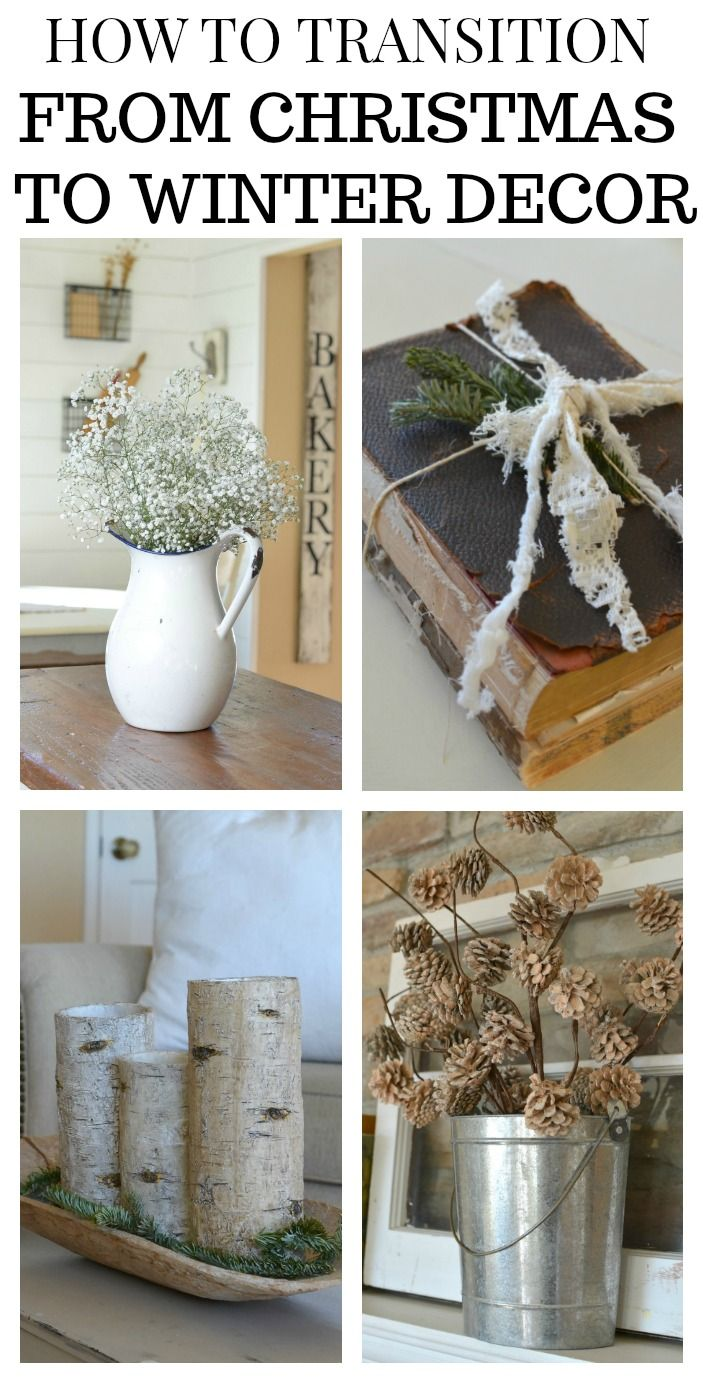 Photo of How to Transition From Christmas to Winter Decor