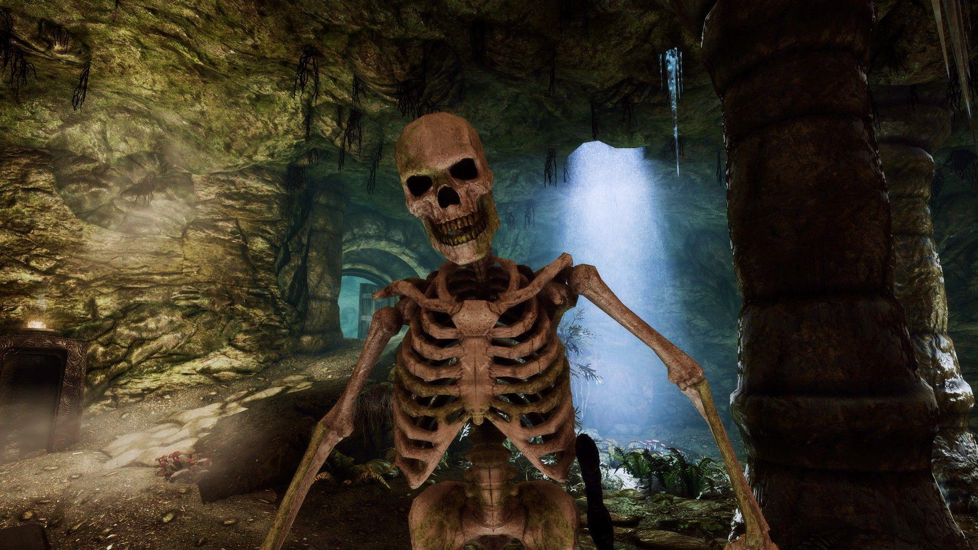 Skyrim Female Skeleton Mod