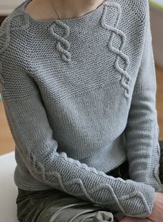 Baby Cables And Big Ones Too Pattern By Suvi Simola Adult Knitting