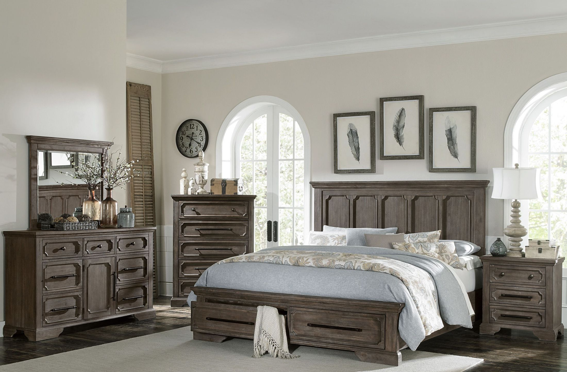 9StopBedrooms.com  Platform bedroom sets, Bedroom furniture