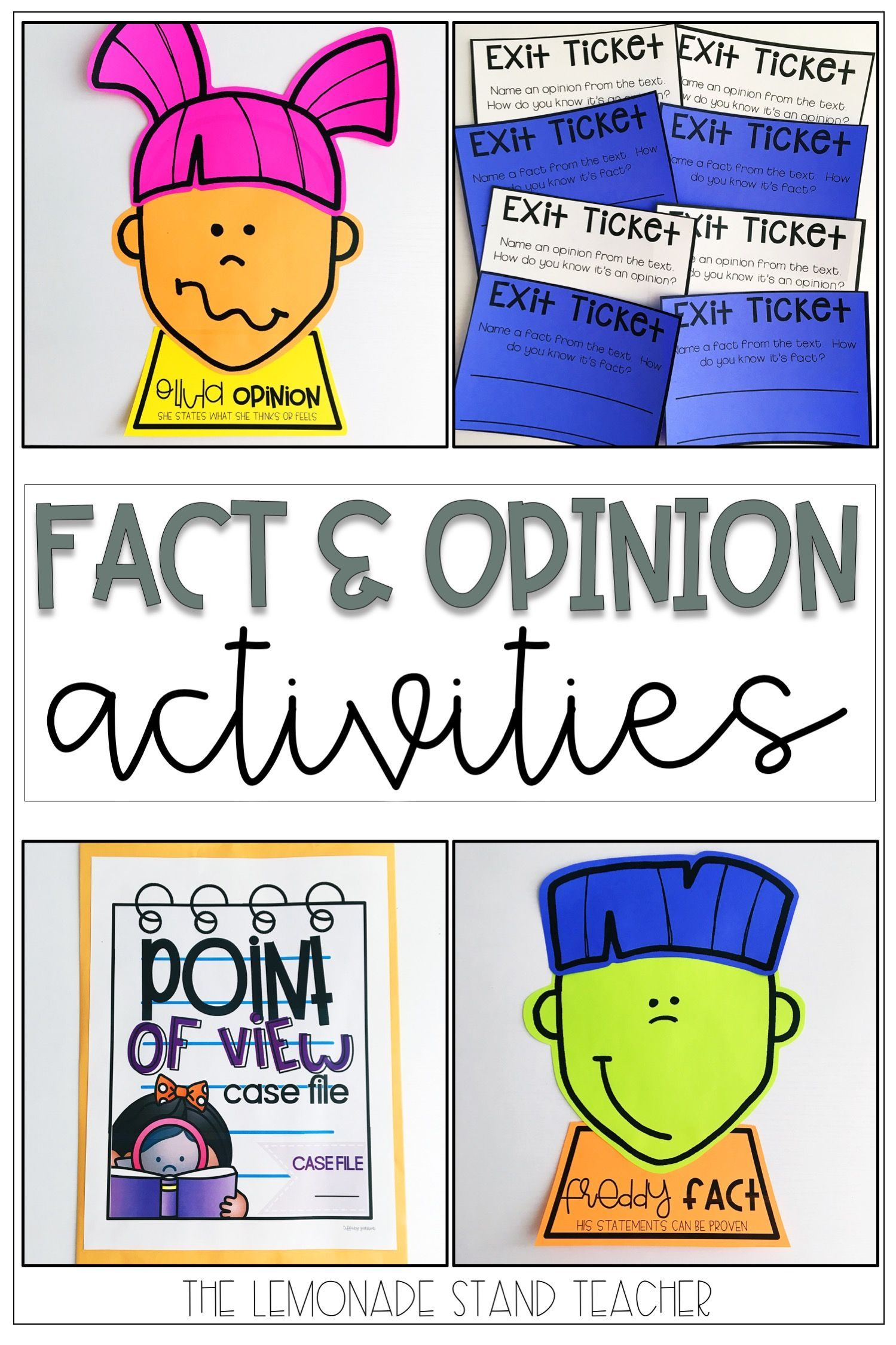 Fact And Opinion Worksheets And Activities Fact And Opinion Worksheet Fact And Opinion Teaching Reading Comprehension Fact or opinion worksheets