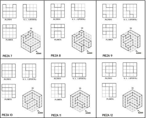 pin by henry lim on o draw isometric drawing drawing exercises. Black Bedroom Furniture Sets. Home Design Ideas
