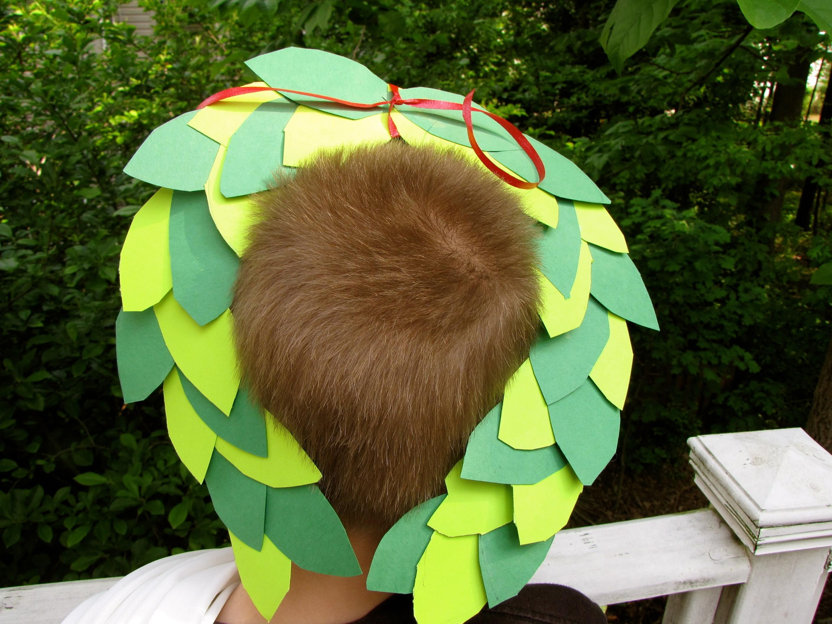 DIY Kids Crafts : DIY Olympic Laurel Wreath Crown Craft | DIY Kids ...
