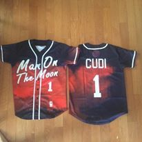 Kid Cudi Man on The Moon Baseball Jersey