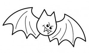 How To Draw A Bat Halloween Art Projects Halloween Drawings