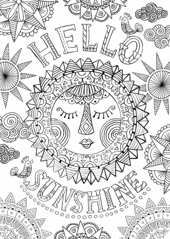 164746.jpg (700×980) | çizim | Pinterest | Mandalas, Colorear y ...