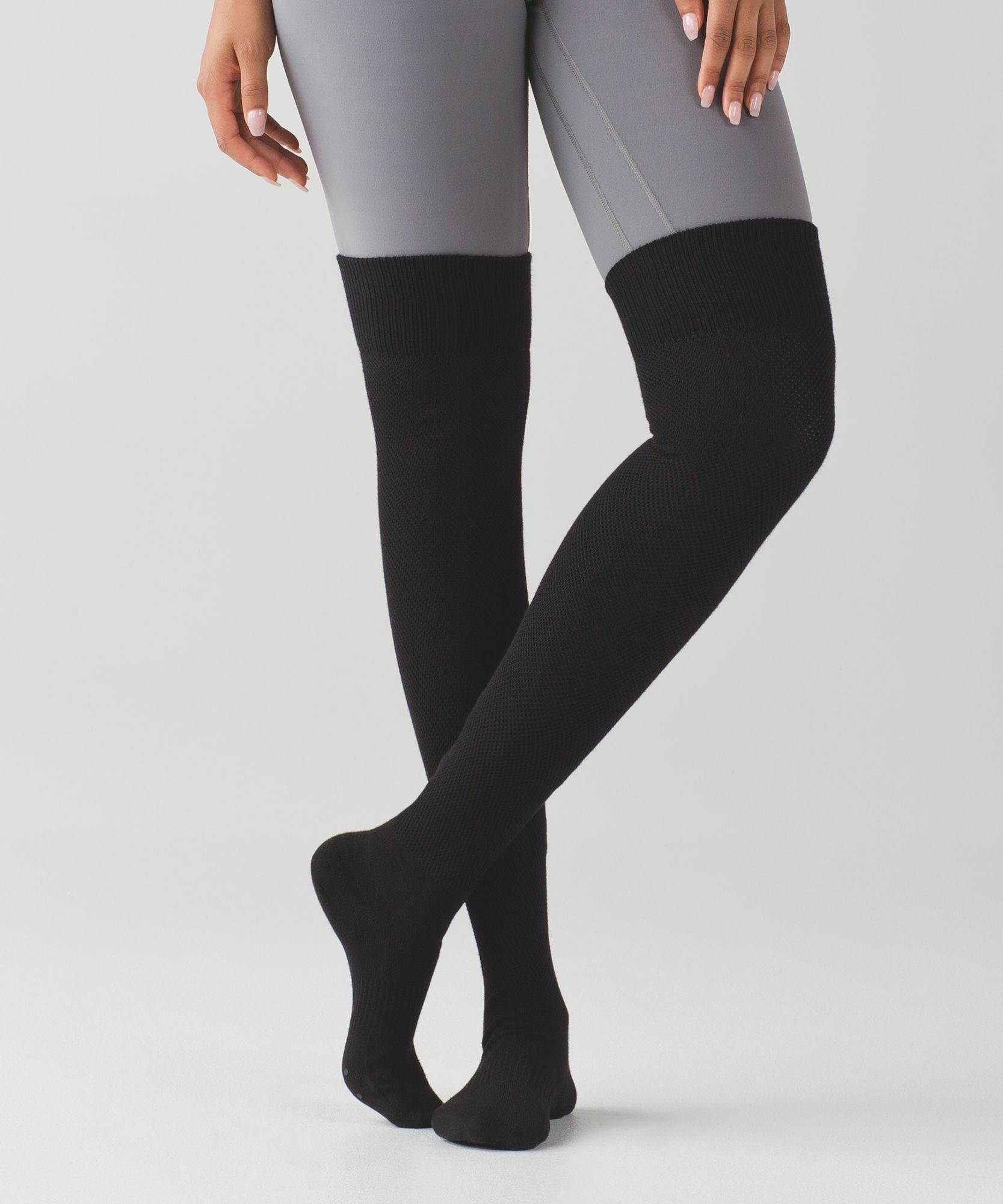2f62ca9610f Layer these cozy socks over tights to keep warm in Savasana or on  cold-weather commutes to the studio.