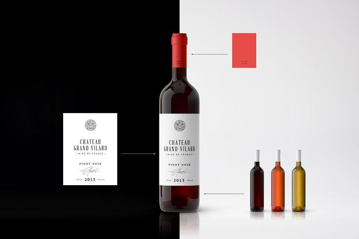 Download Wine Packaging Mockups Wine Packaging Packaging Mockup Wine