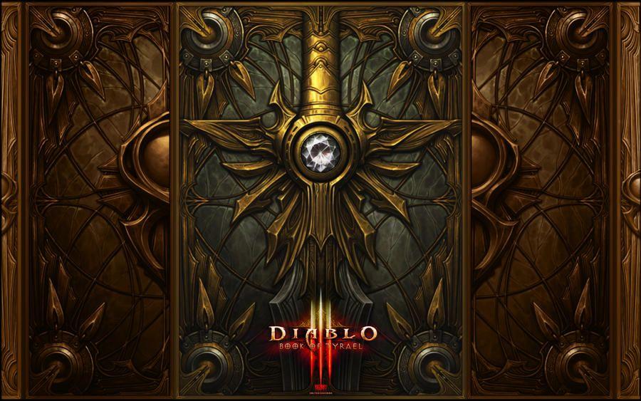 Diablo 3 Book Of Tyrael By Holyknight3000 On Deviantart Hd Wallpaper Diablo 3 Graphic Wallpaper