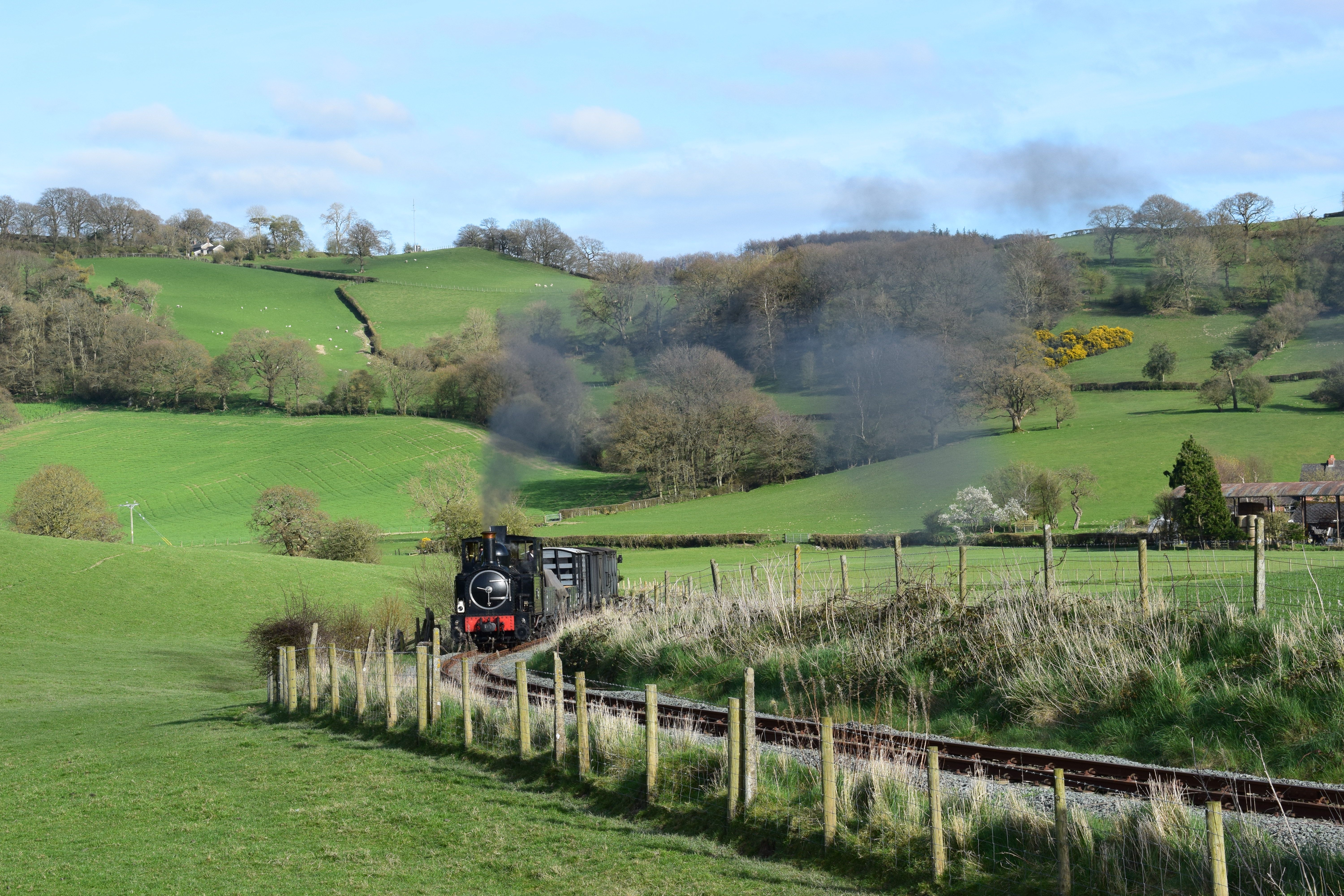Pin by Louis Phung on WLLR Train, Welshpool, Railway