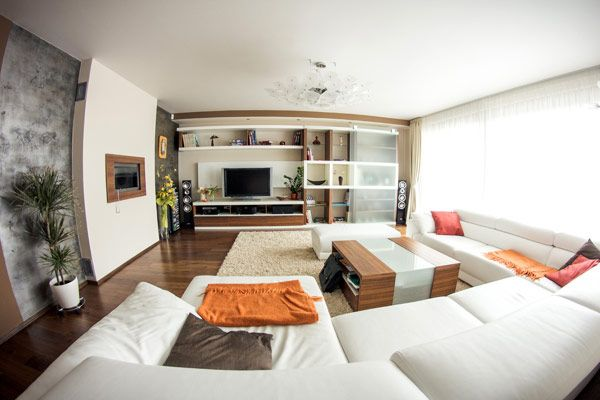 Modern Approach to Highly Practical Family Apartment in Central