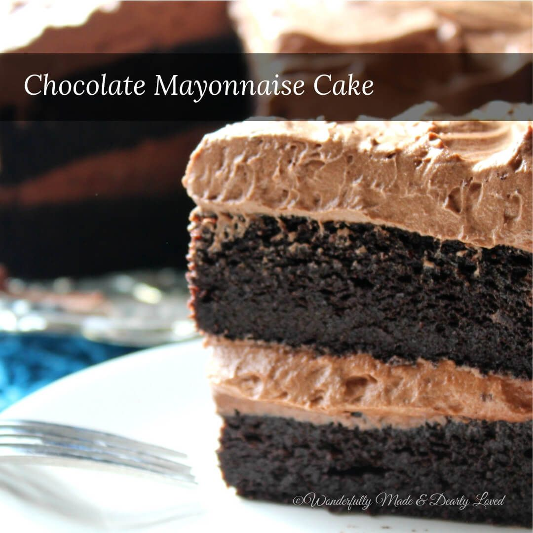 THM Classic Mayonnaise-Schokoladenkuchen nach südlicher Art (THM S, Low Carb)   – THM desserts