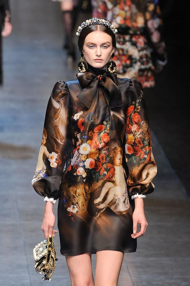 Dolce & Gabbana Autumn (Fall) / Winter 2012