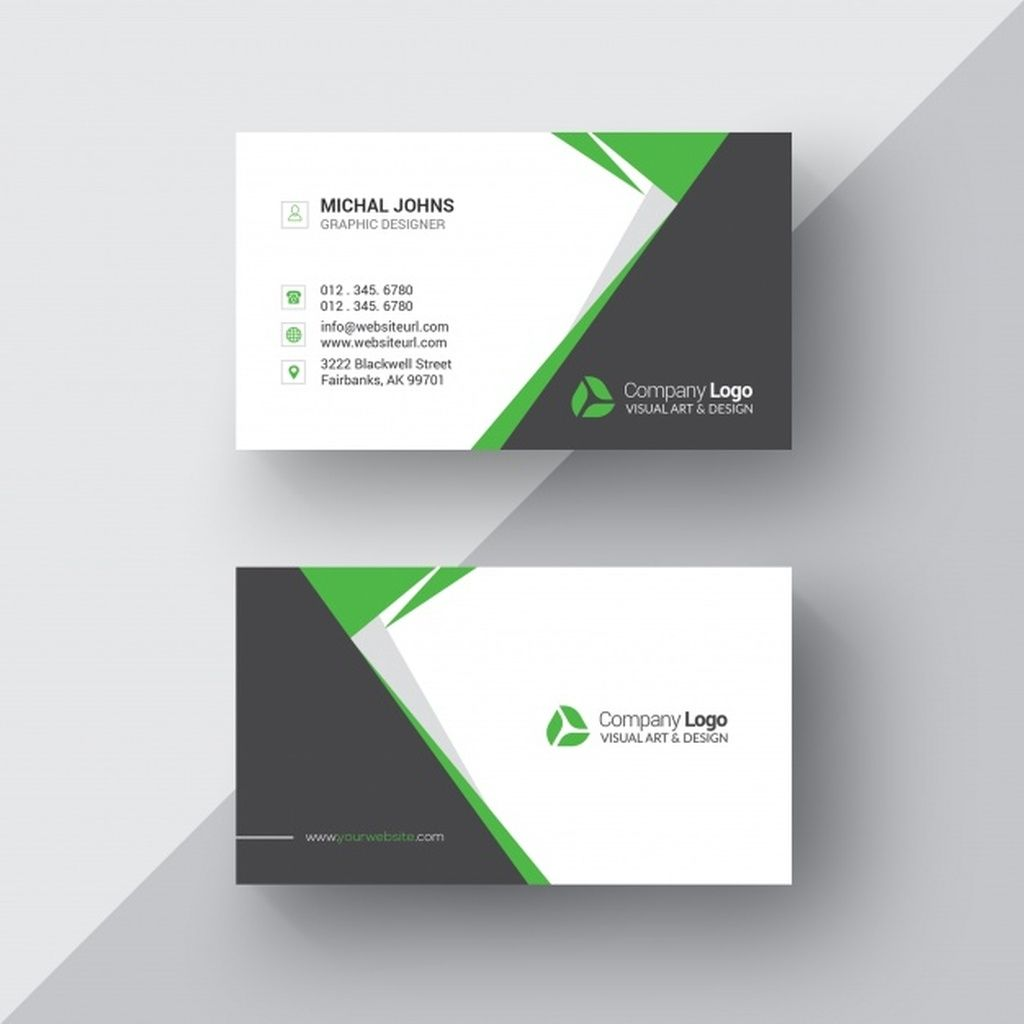 Black And White Business Card With Green Details Paid Ad Affiliate B Business Cards Creative Templates Business Card Design Photography Business Cards