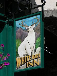 White Hart Pub. Grassmarket, Edinburgh, Midlothian EH1 2JU