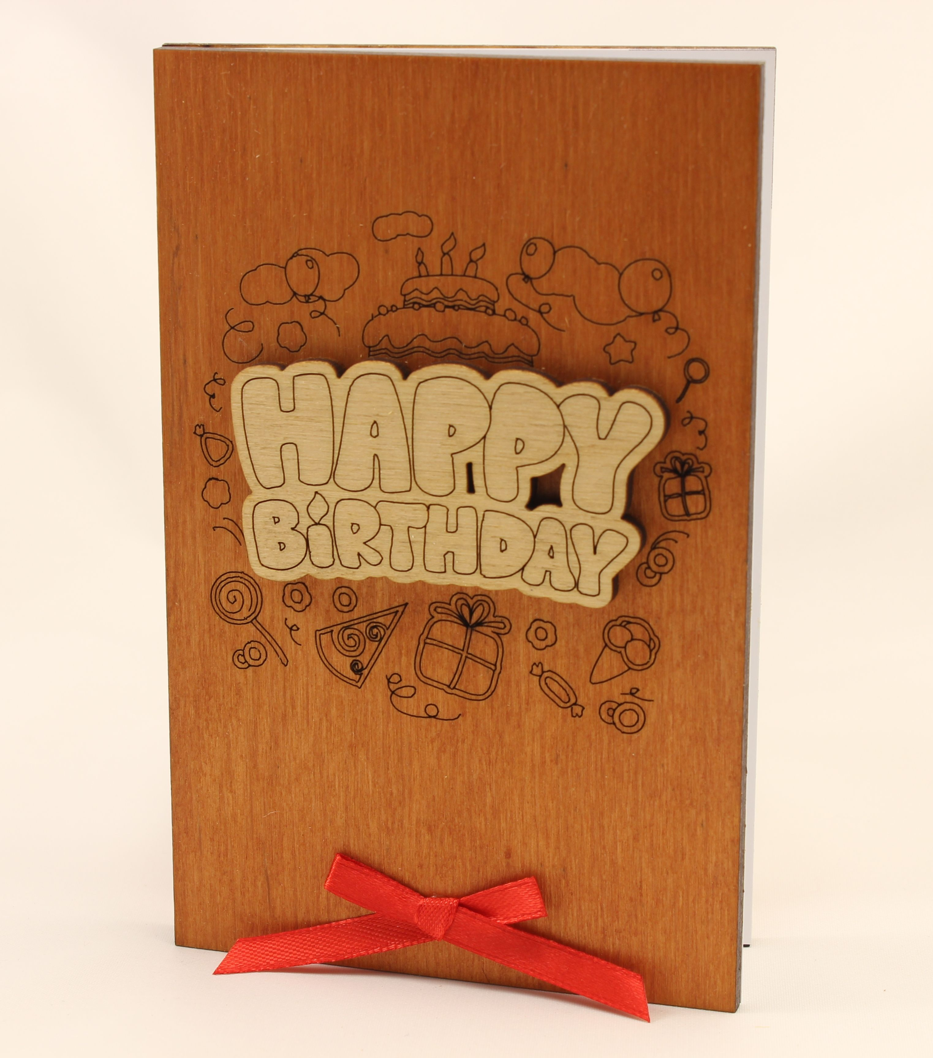 Happy Birthday Card Funny Birthday Wood Gift For Him Boyfriend Men Husband Or Her Girlfriend Women Wife Wooden Present Special Cards Gifts Happy Birthday Card Funny Funny Birthday Cards Birthday Gifts