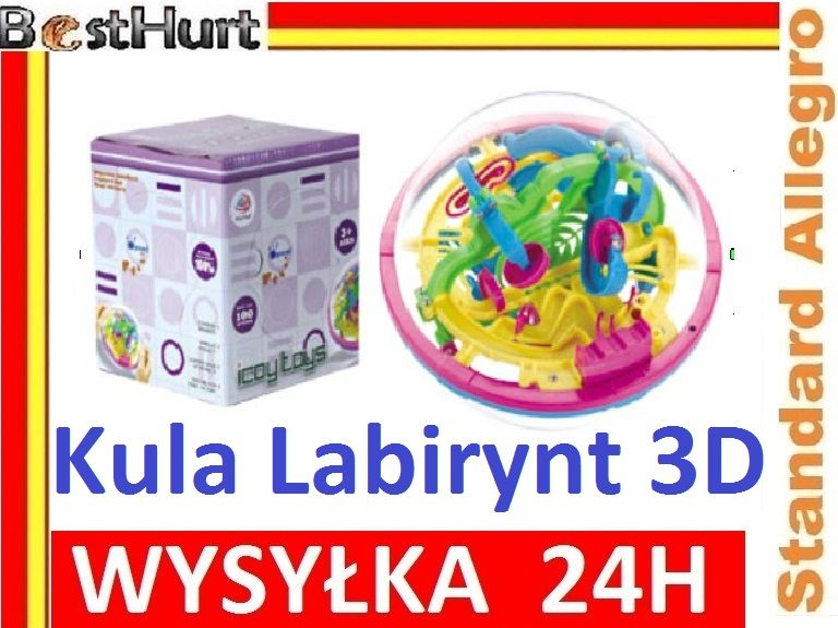 Edukacyjna Inteligentna Kula Labirynt 3d Zrecznosc 4726022319 Oficjalne Archiwum Allegro Kula White Out