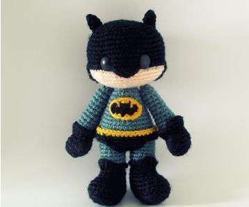 The Joker (Batman) Amigurumi Crochet Pattern | Crochet batman ... | 298x358