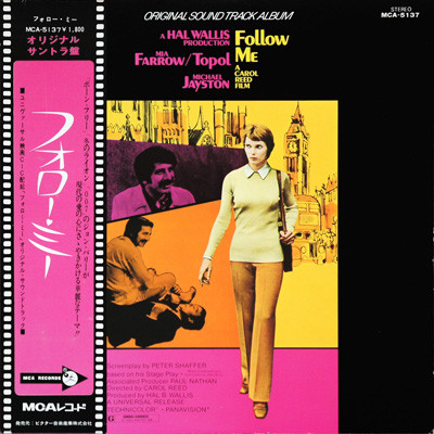 John Barry Follow Me Original Motion Picture Soundtrack 1973 Vinyl Discogs Motion Picture Soundtrack The Originals