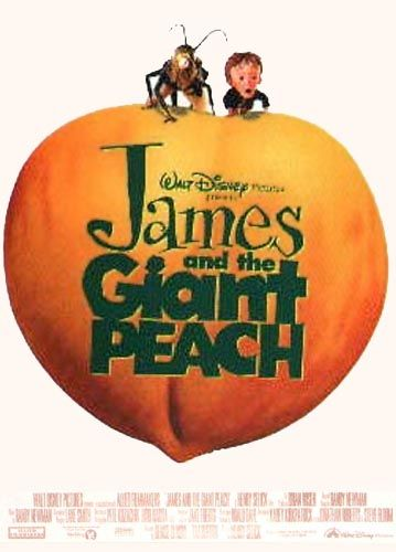 Disney/'s James and the Giant Peach Movie Poster Rolled