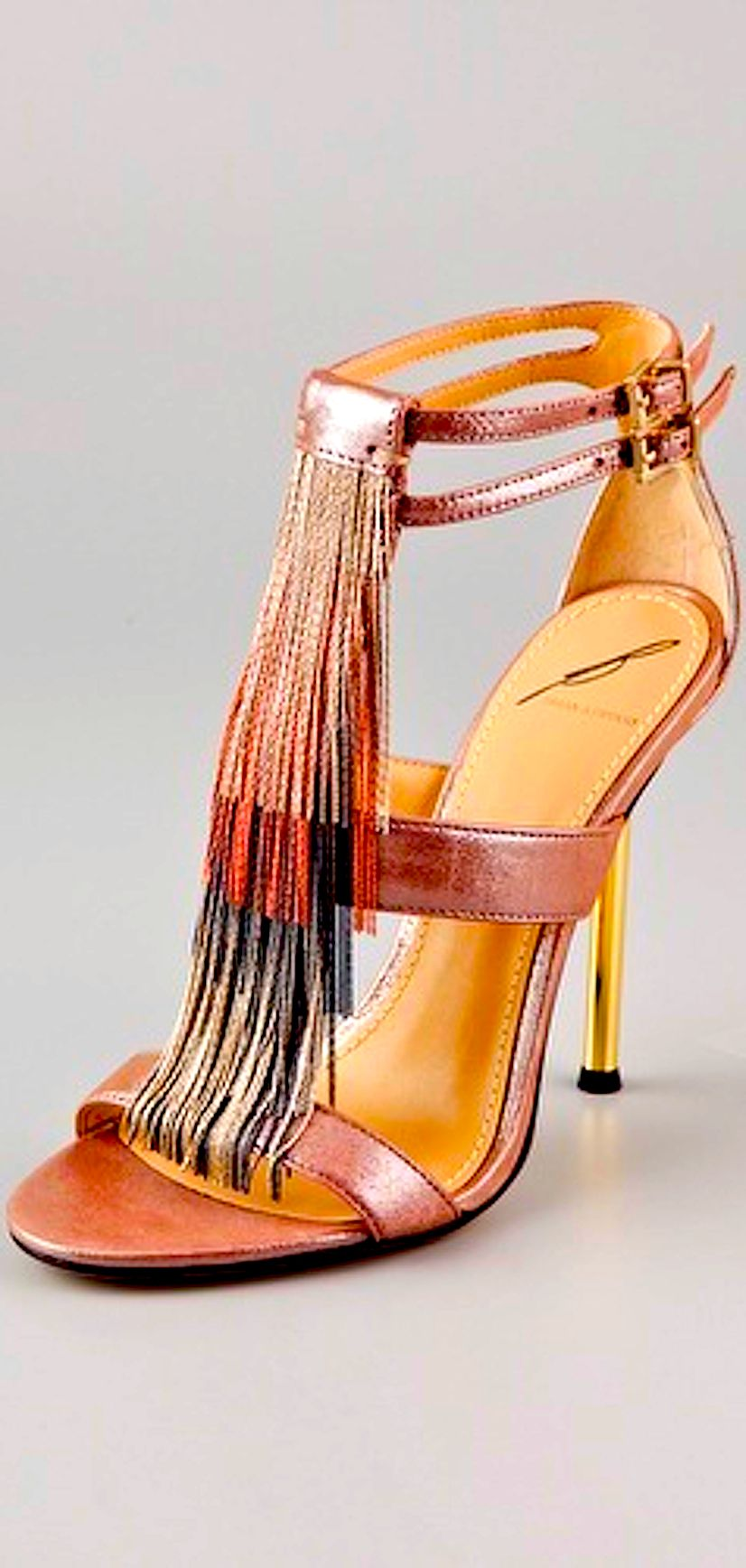 Multicolor Strappy Cut Out Highheel Sandals Brianatwood Brian