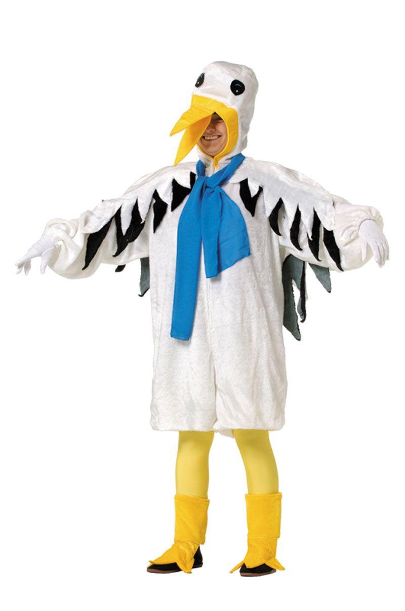 Divertido Disfraz De Ciguena Animal Disfraces Disfraces