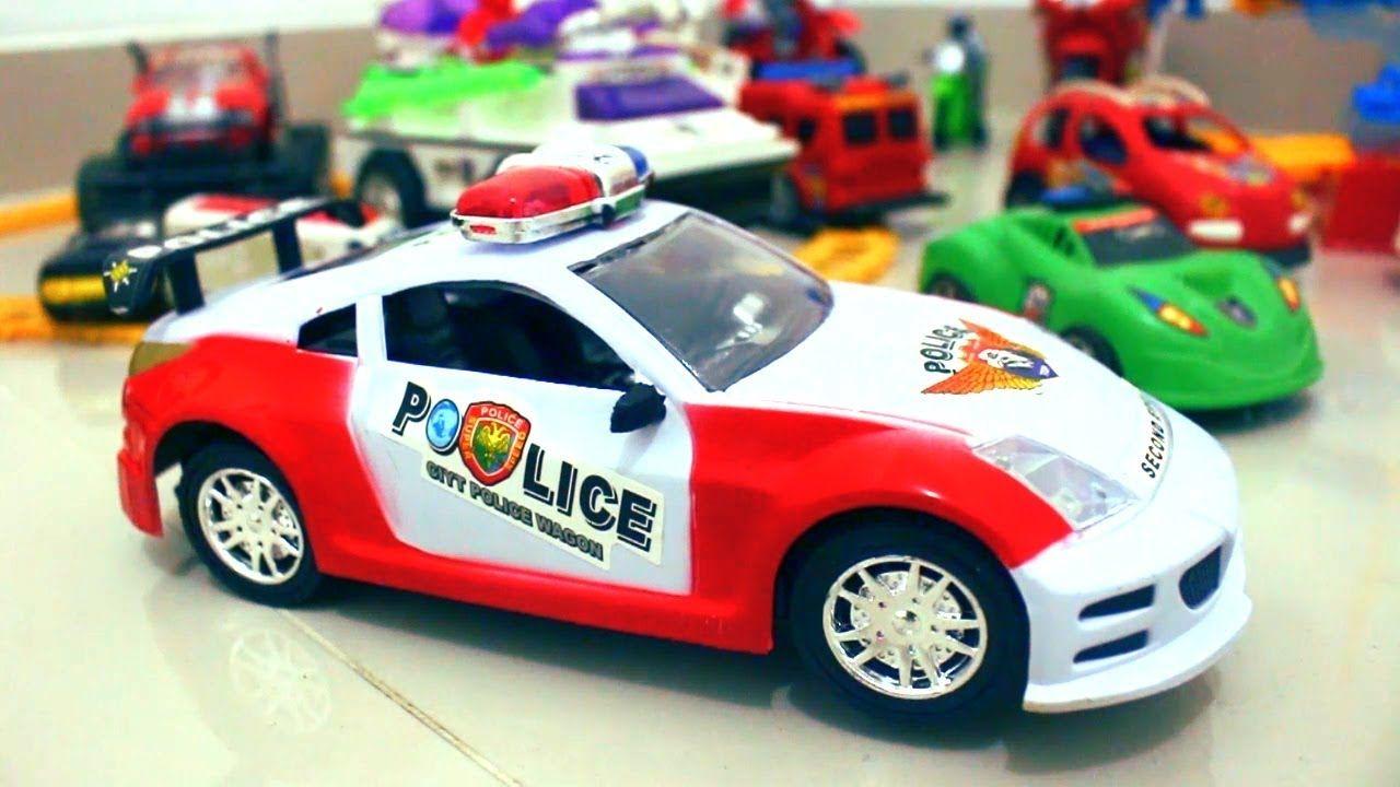 Mainan Mobil Mobilan Polisi Senjata Rangers Tayo Little Bus Mobil Polisi Mobil Mainan
