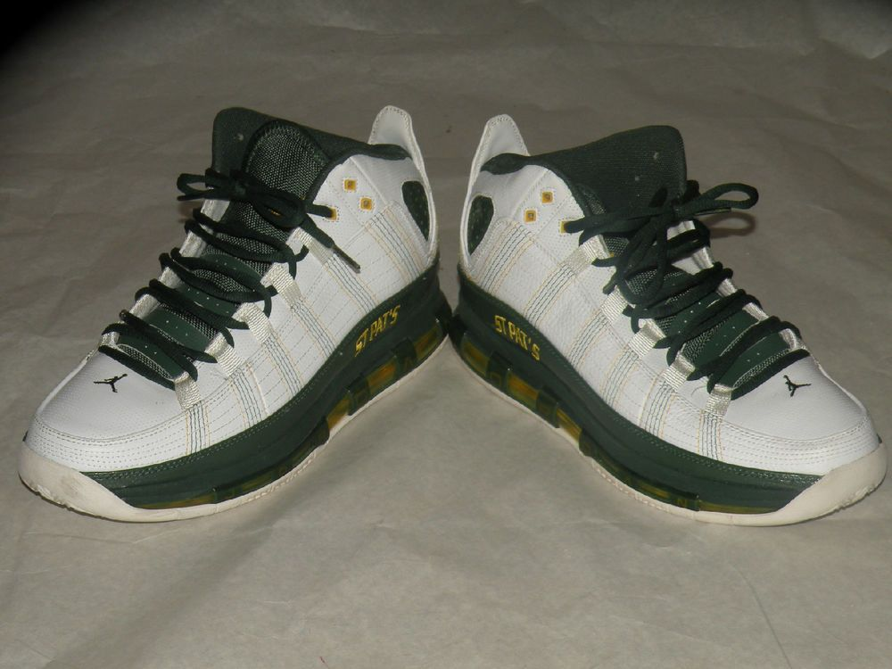 buy popular 3bf0d 6c15d Limited Edition St. Pat s Mens size 12 Air Jordan Take Flight Green White   Nike  BasketballShoes