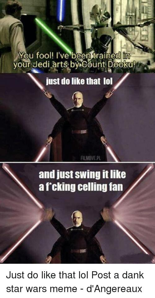 Via Me Me Star Wars Humor Star Wars Memes Star Wars Facts