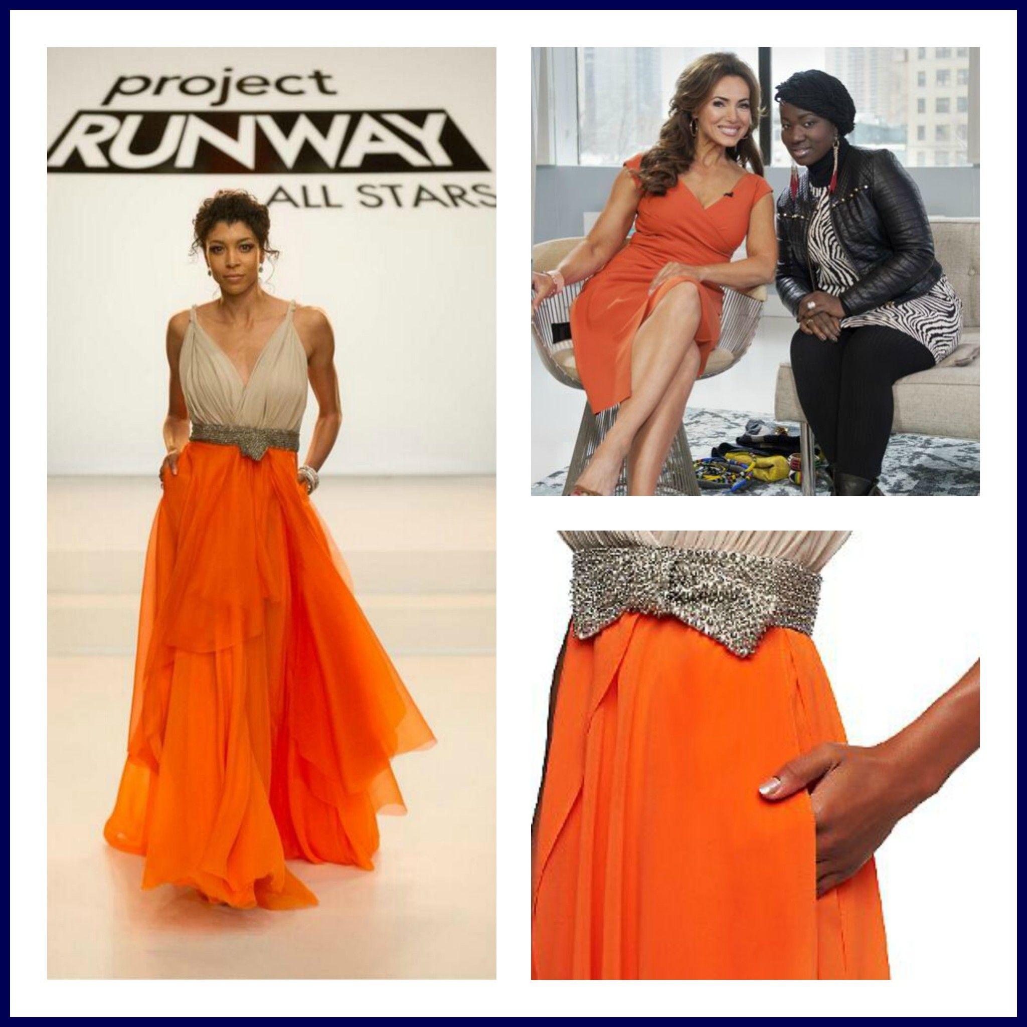 Lisa robertson in wedding dress -  Left Qvc Challenge S Winning Design Top Right Designer Korto Momolu W Qvc Host Lisa Robertson Bottom Right Winning Design S Dres