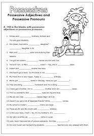 Resultado De Imagen Para Possessive Adjectives Exercises Posesivos En Ingles Adjetivo Posesivo Adjetivos Posesivos Ingles