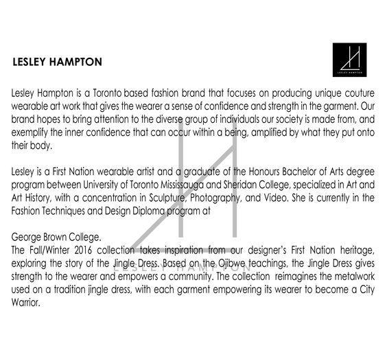Pin By Vancouver Fashion Week On F W 16 Lesley Hampton The Hamptons Fashion Brand Wearable Art