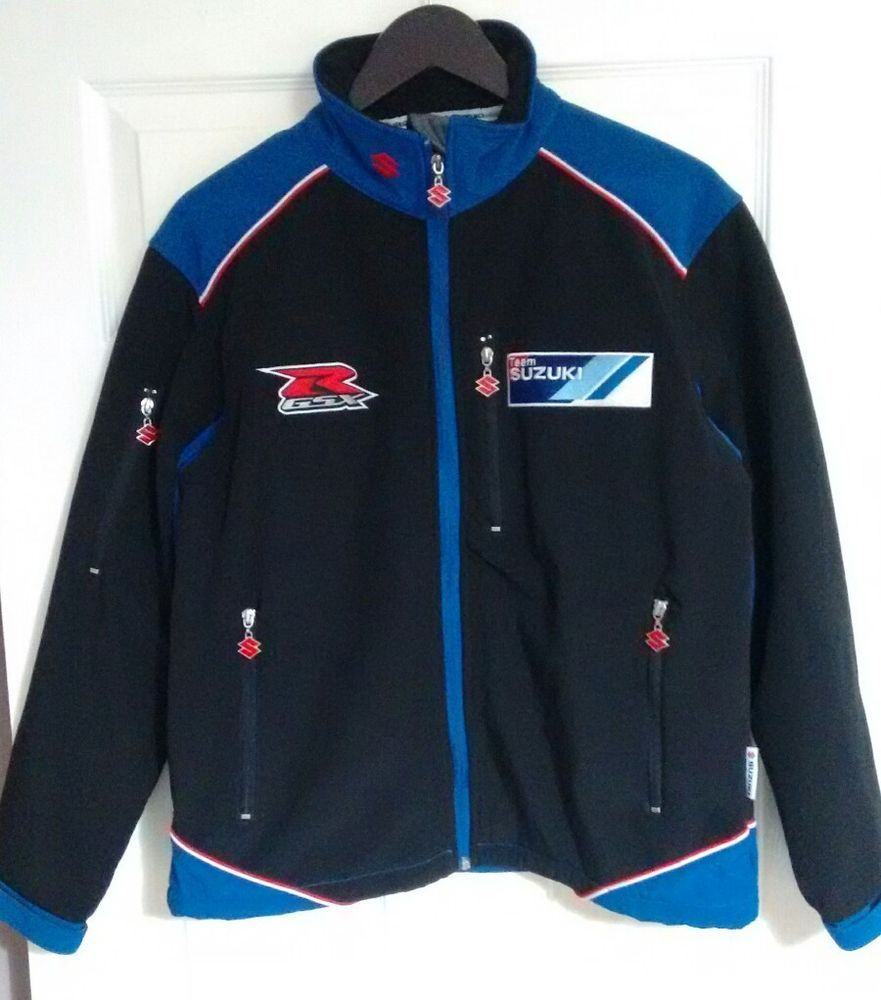 Team Suzuki Jacket XS Clinton Enterprises Fleece Lined   eBay ...