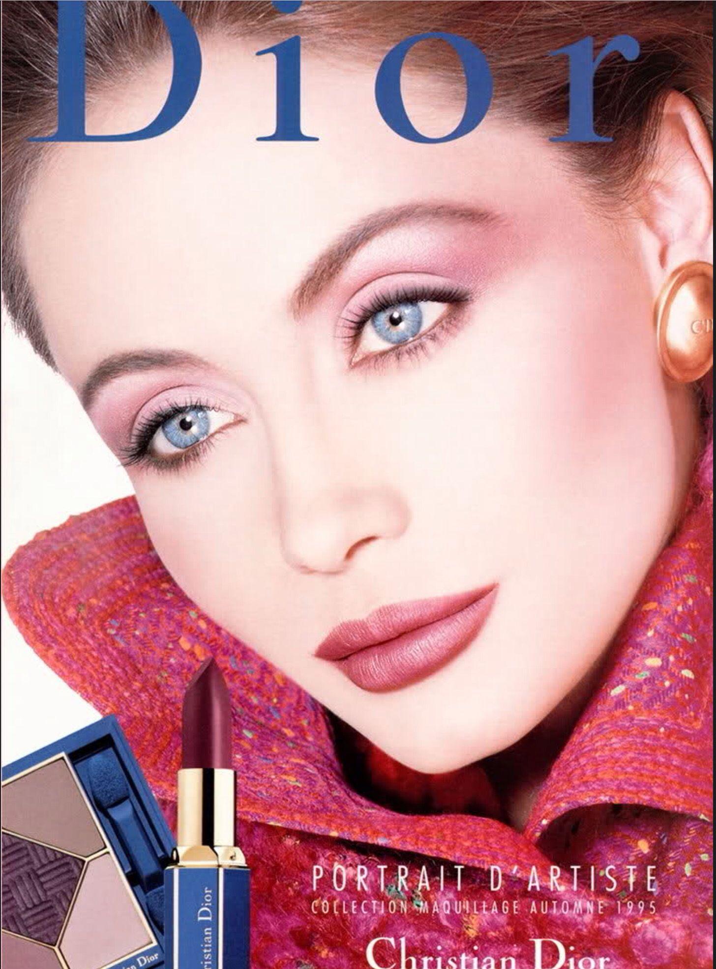 17d4fa89ae1 Christian Dior Makeup Fall 1995   Vintage Ad & Fashion in 2019 ...
