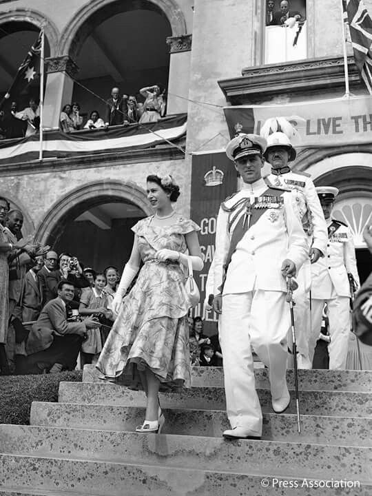 The Queen and Prince Philip in 1952