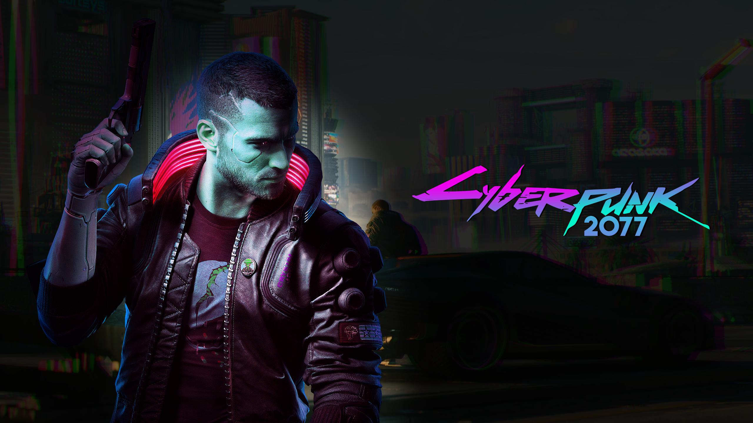 Cyberpunk 2077 Wallpaper No Blue Overlay 2560x1440