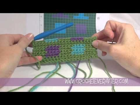 This video will walk you through the basics for intarsia crochet ...