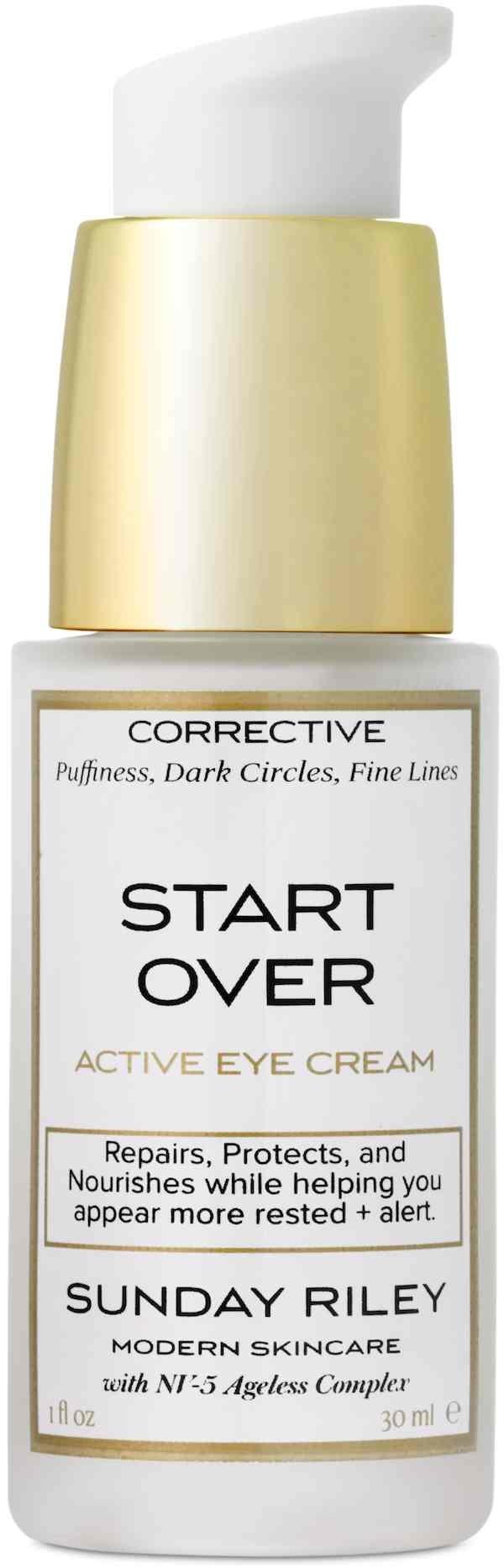 Depuffs eyesStart Over Active Eye Cream  MUST HAVE  Pinterest