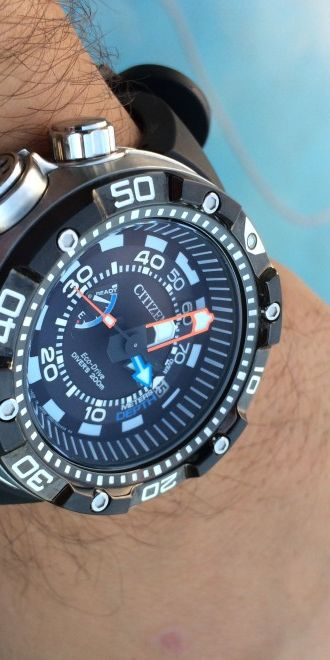 f7d8346af75 Citizen Eco Drive Promaster Aqualand Depth Meter BN2024-05E - Authentic  Watch Reviews