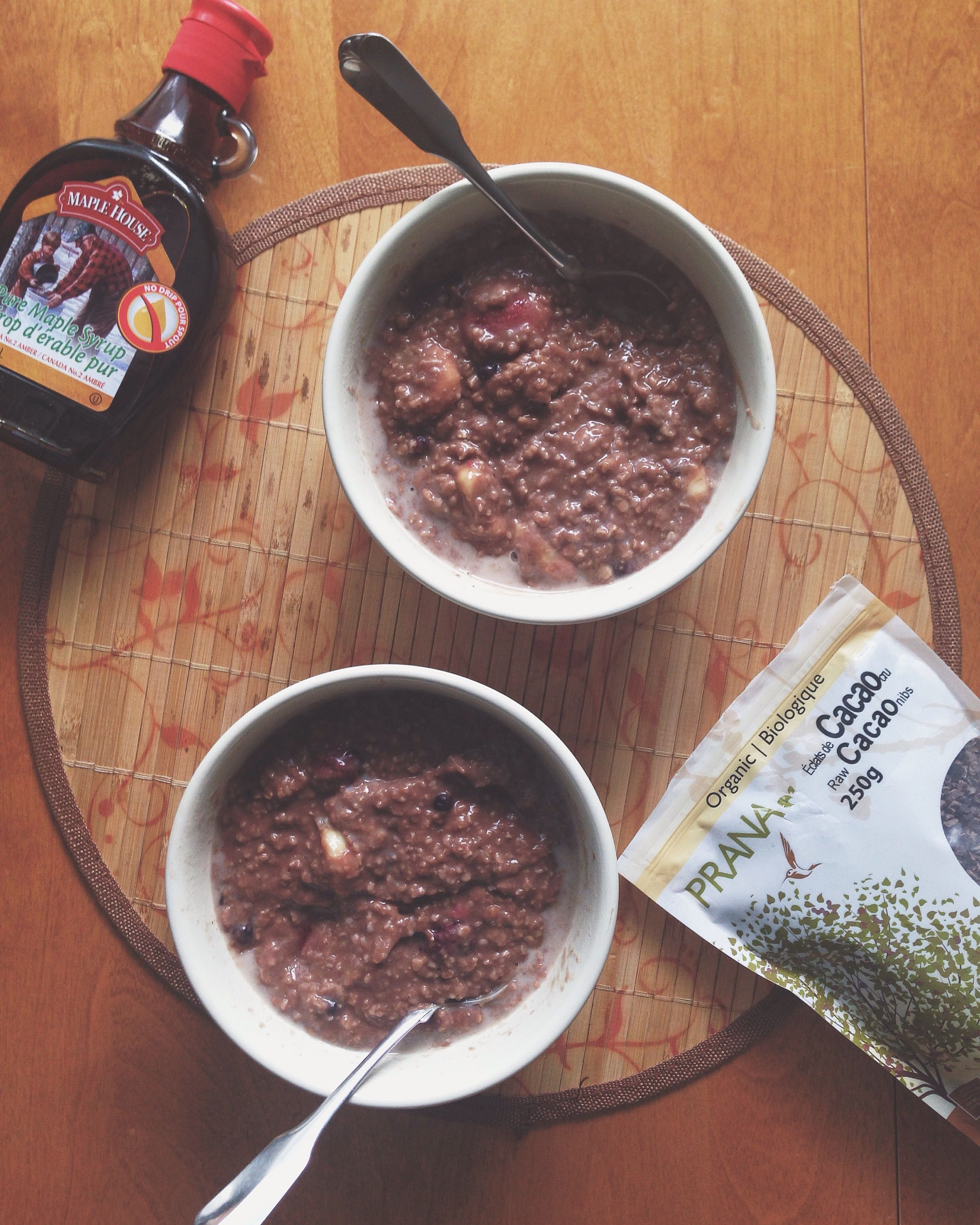 Recipe: Chocolate Oatmeal