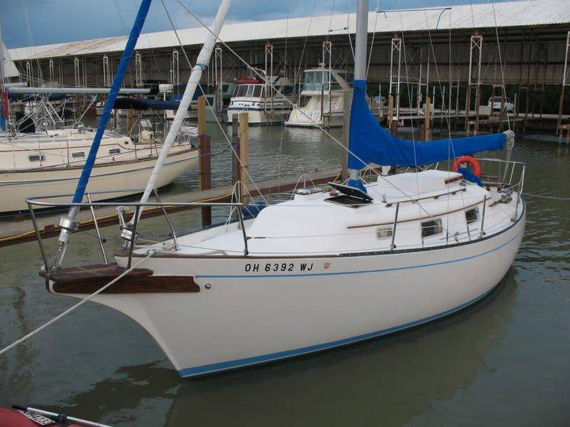 1980 bayfield cutter located in ohio for sale sailboats