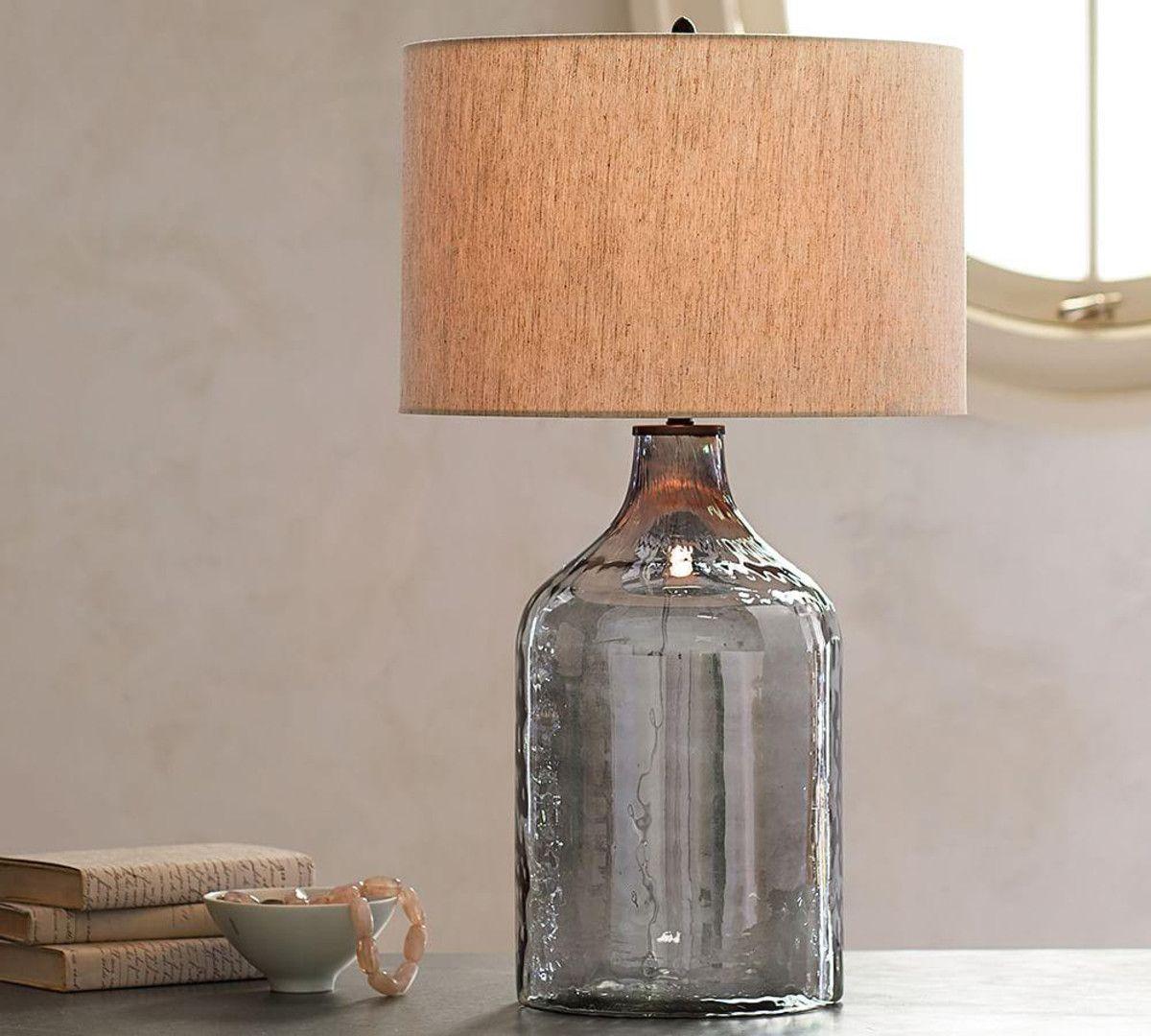Alana Luster Glass Jug Table Lamp Base Glass Jug Table
