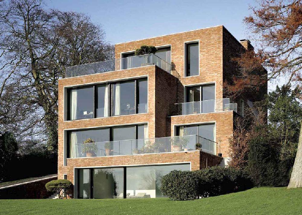 David chipperfield elbchaussee house hamburg 2 for Modernes haus hamburg