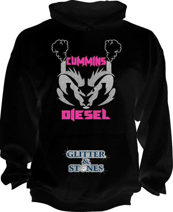 DIRT IS MY KIND OF GLITTER COUNTRY GIRL FUNNY Womens Black Sweatshirt